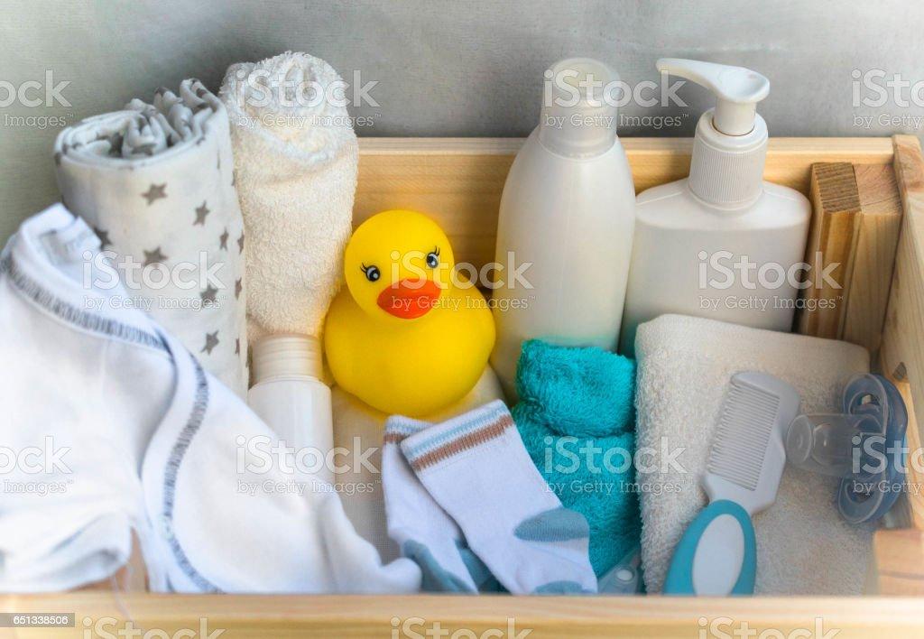 baby stuff stock photo