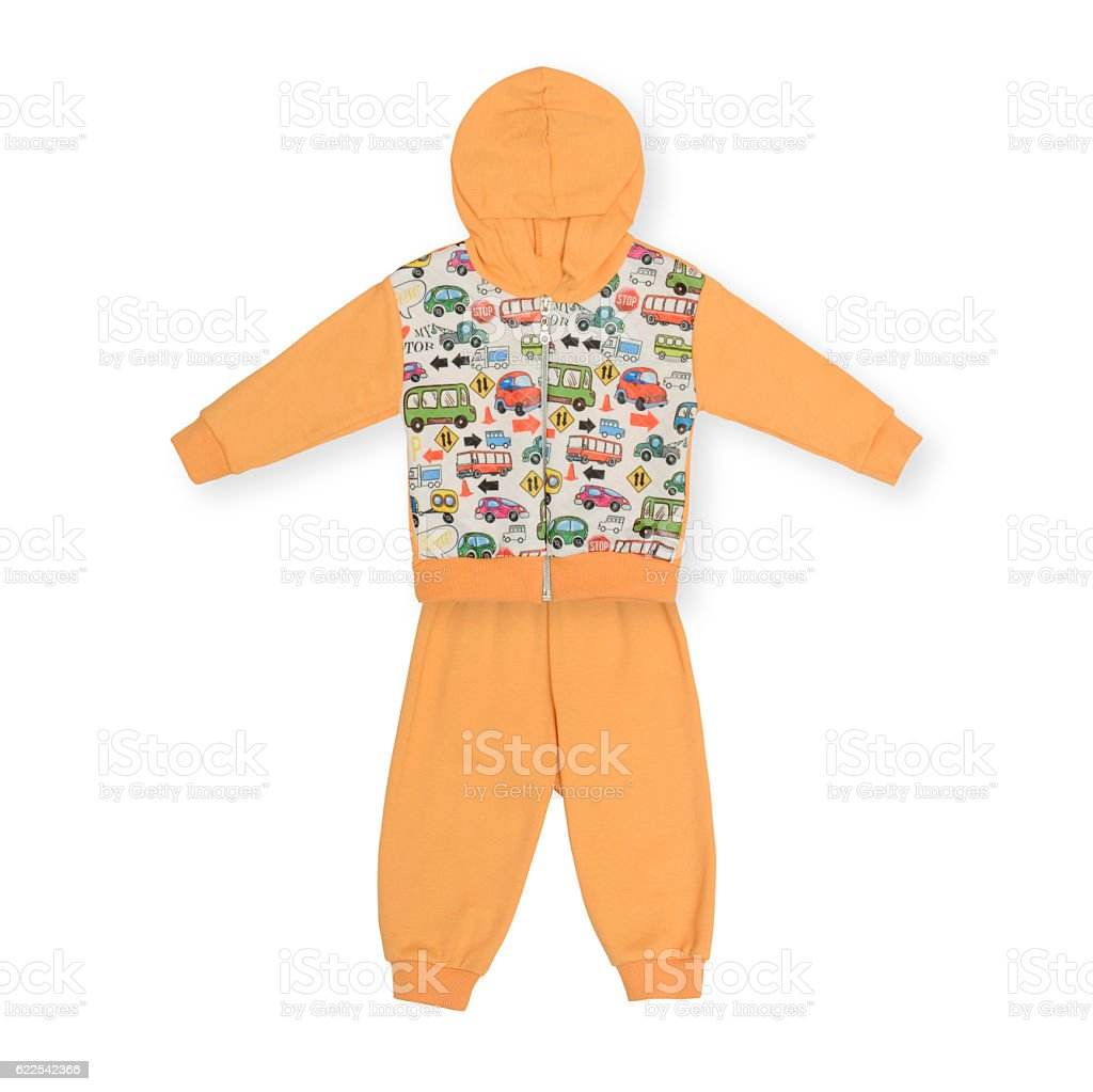baby suit for girl stock photo