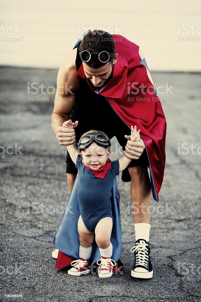 Baby Superhero royalty-free stock photo