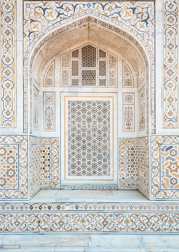 Baby Taj in Agra India stock photo
