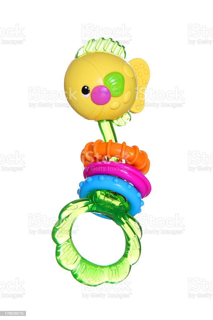 Baby Toy Rattle royalty-free stock photo