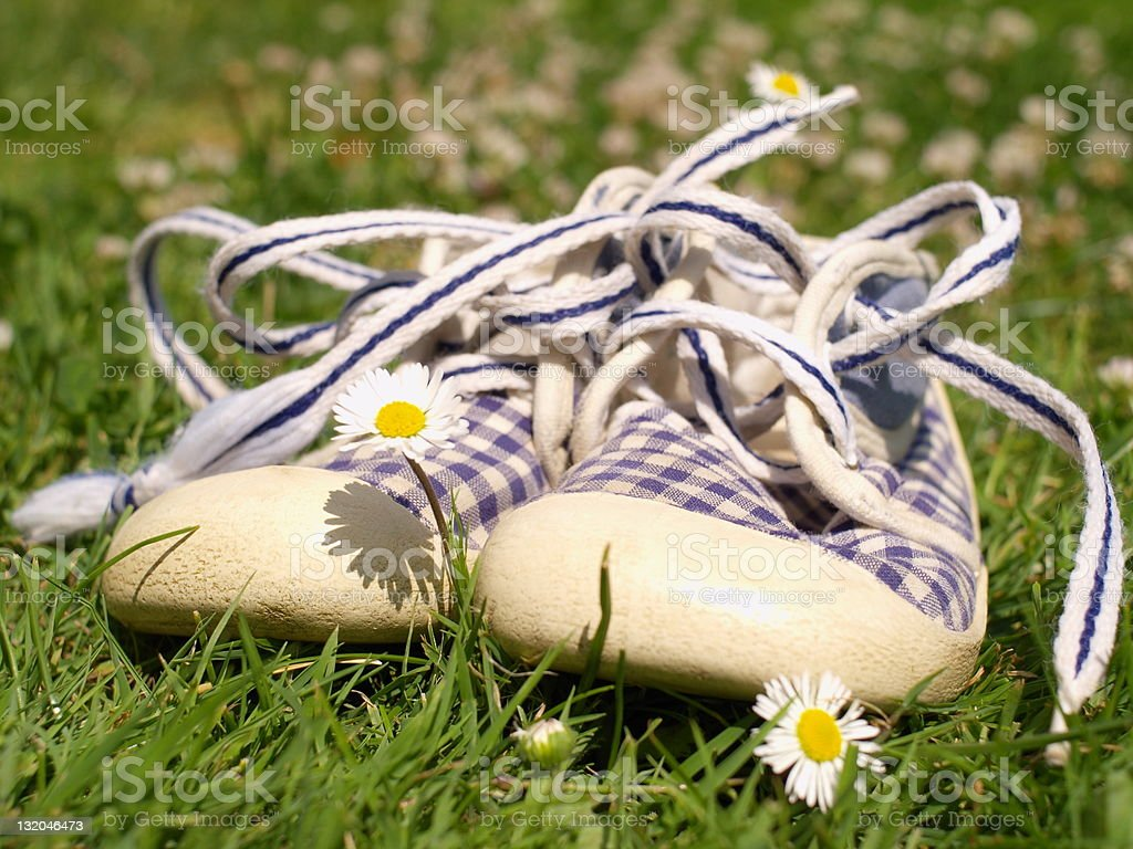 baby trainers royalty-free stock photo