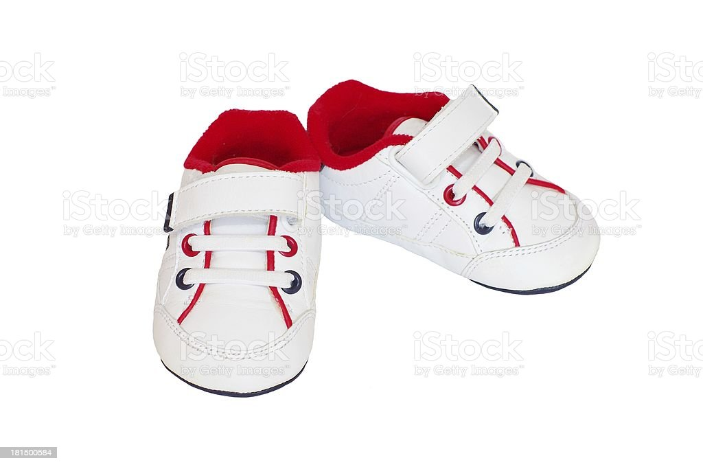 baby training shoes royalty-free stock photo