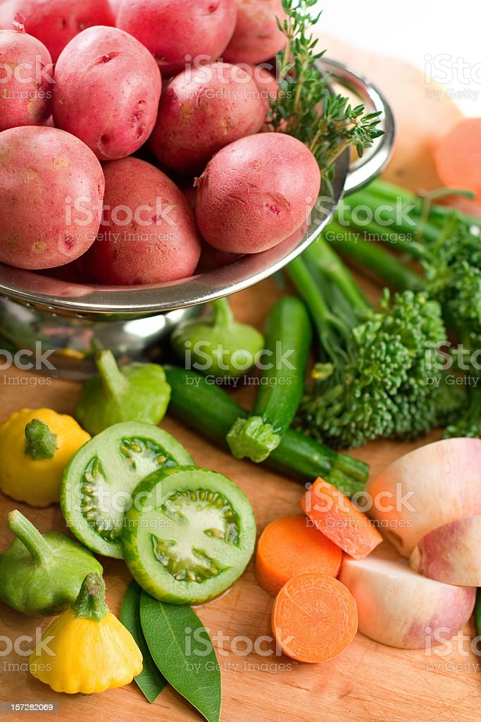 Baby Vegetables royalty-free stock photo