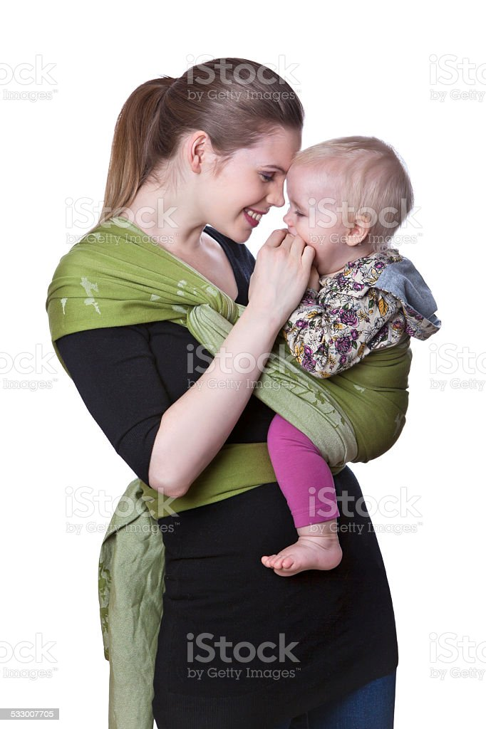 Baby wrap stock photo