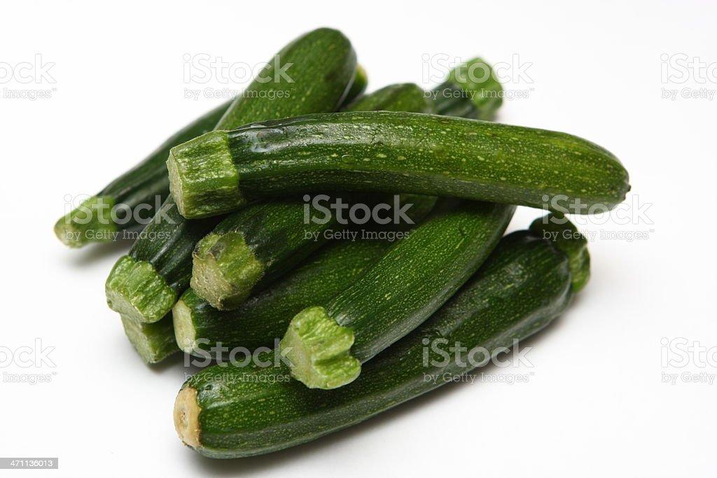 Baby Zucchini royalty-free stock photo