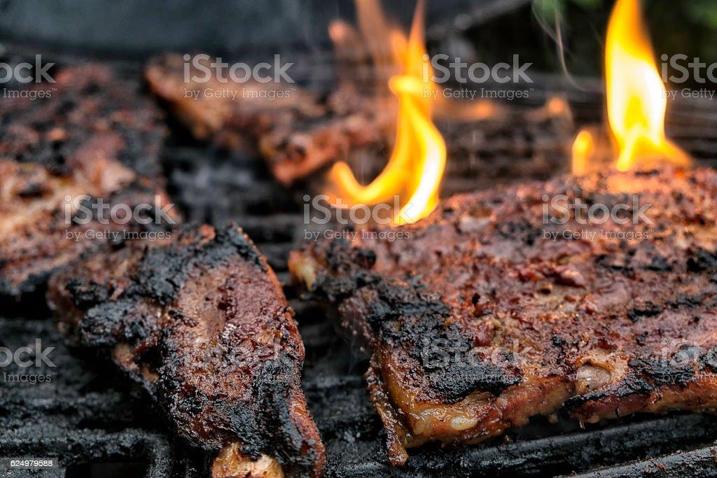 Babyback ribs stock photo