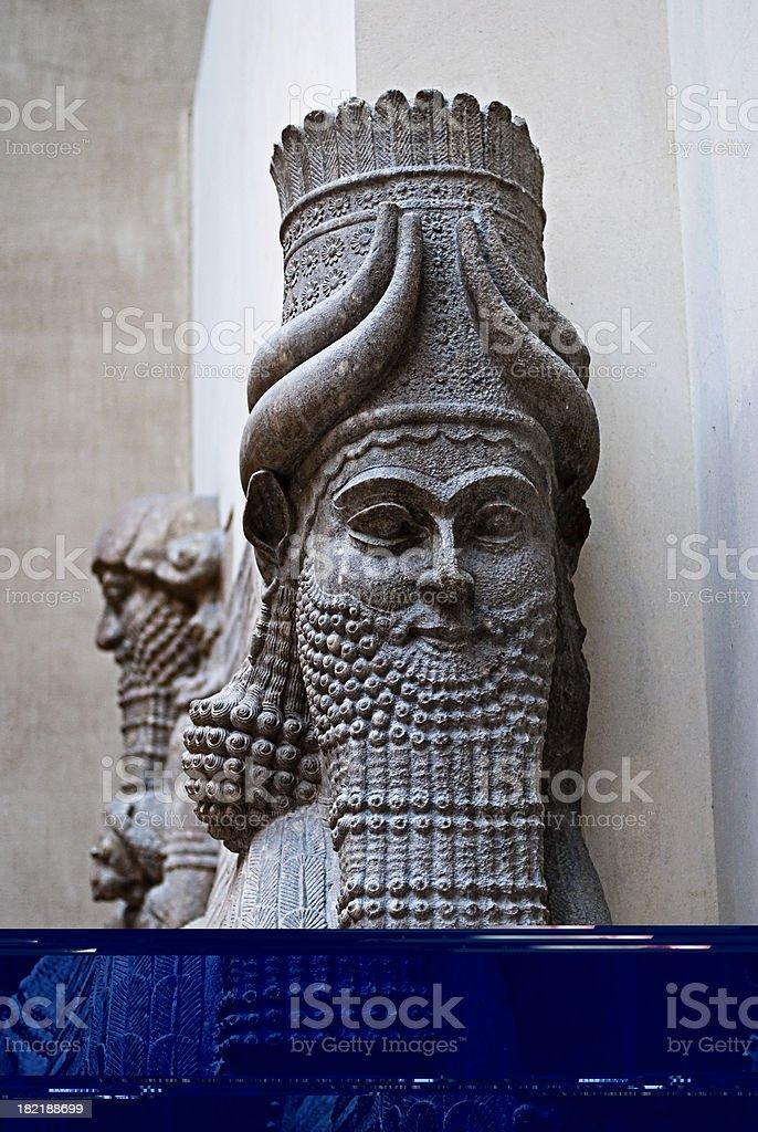 Babylonian archeology stock photo