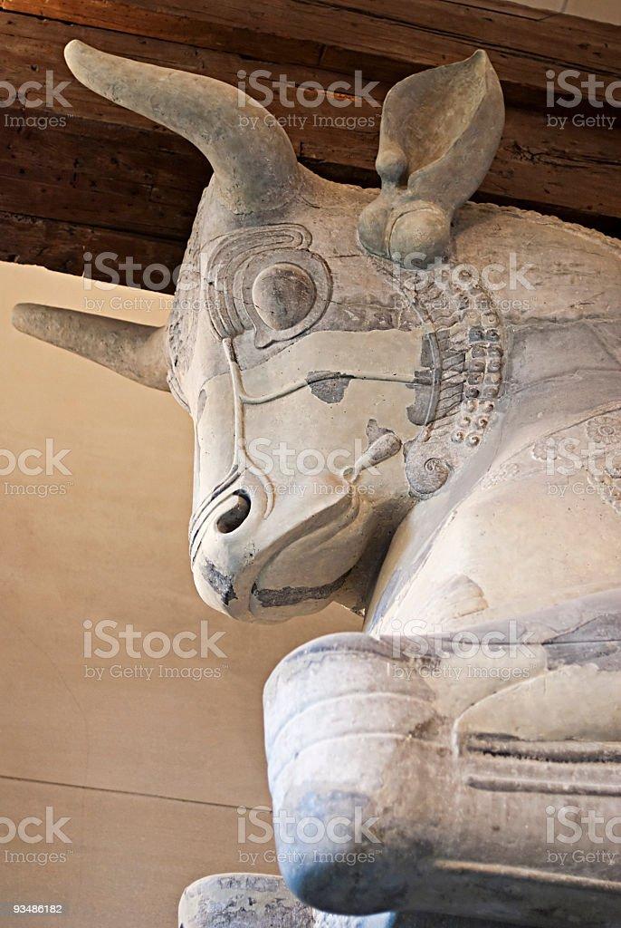 Babylonian mythology stock photo