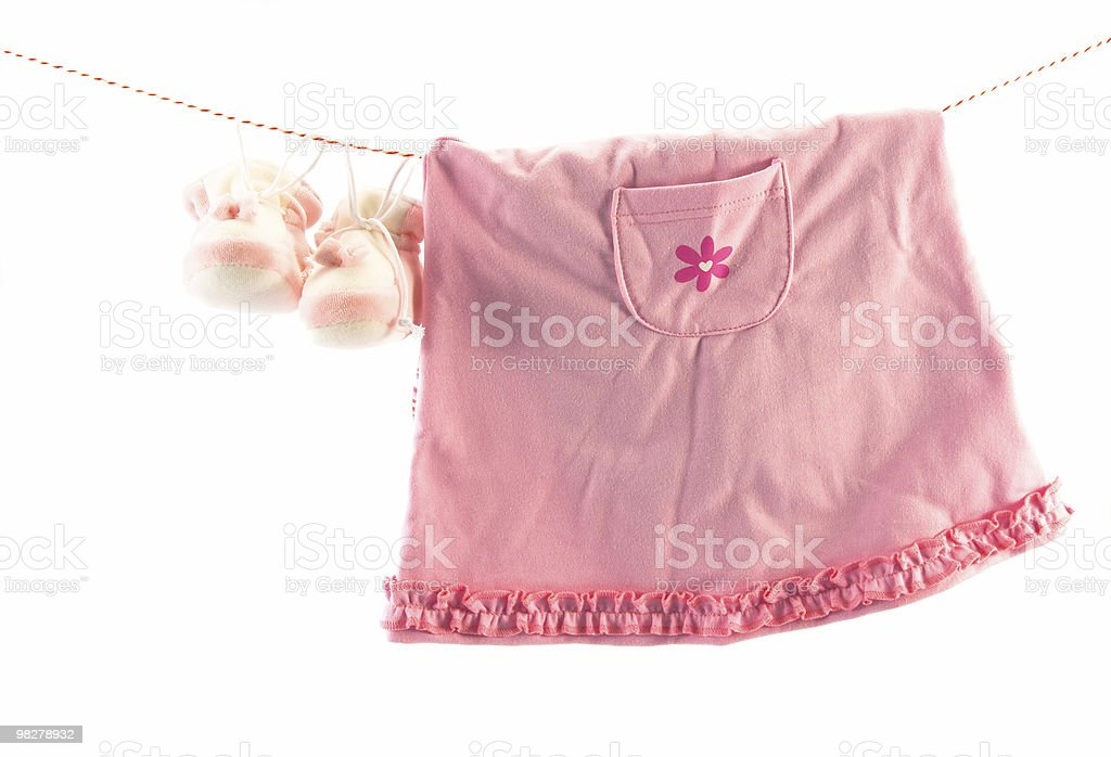 Baby's clothes royalty-free stock photo