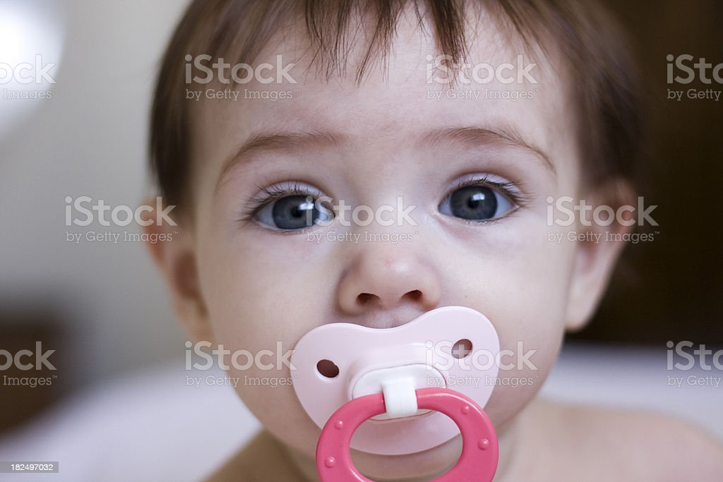 Baby's Eyes stock photo