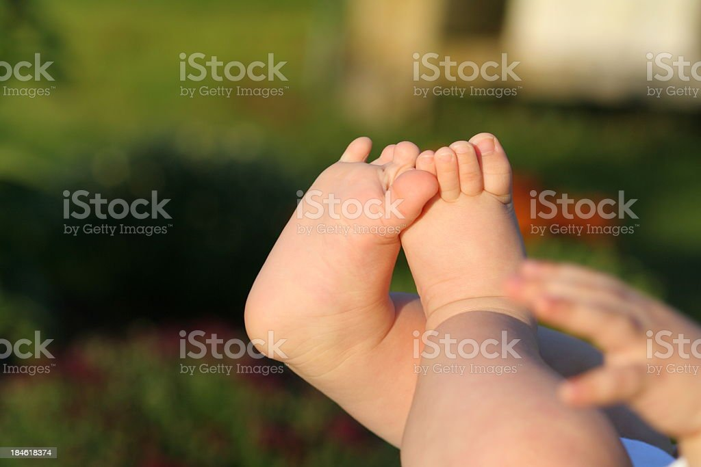 Baby's Feet royalty-free stock photo