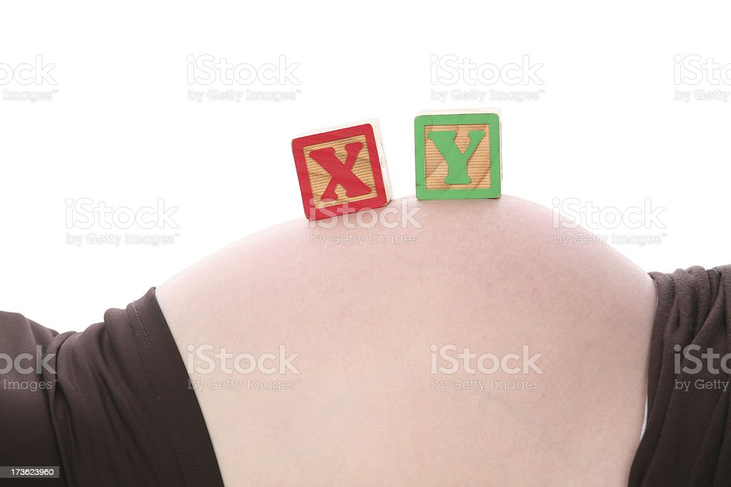 Baby's gender royalty-free stock photo