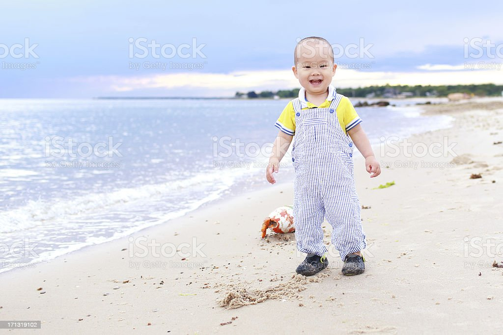 Baby's Ocean royalty-free stock photo