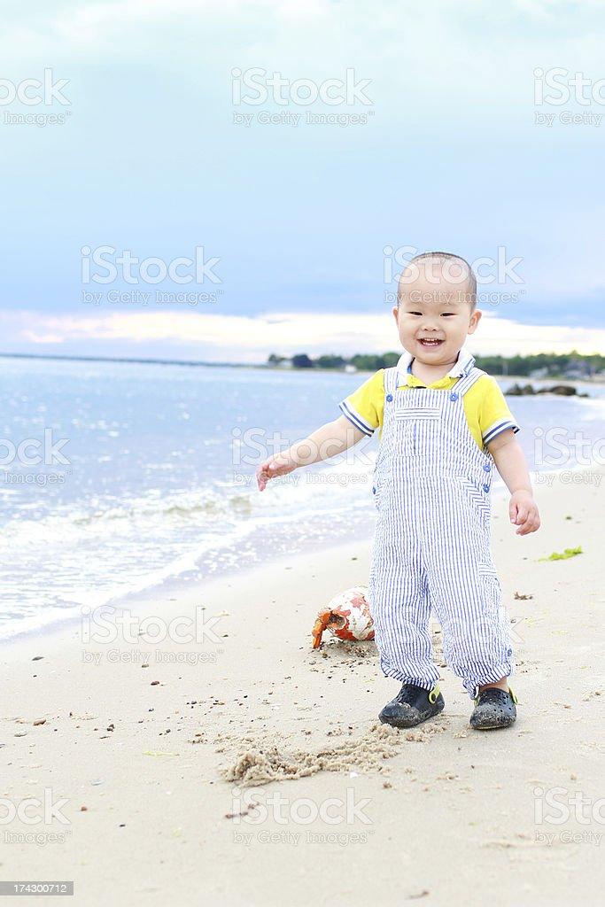 Baby's Ocean stock photo
