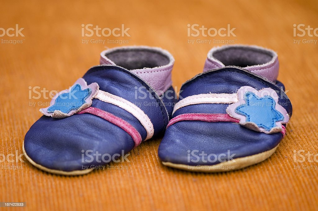 Baby's Shoes royalty-free stock photo
