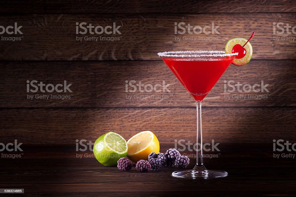 Bacardi cocktail stock photo
