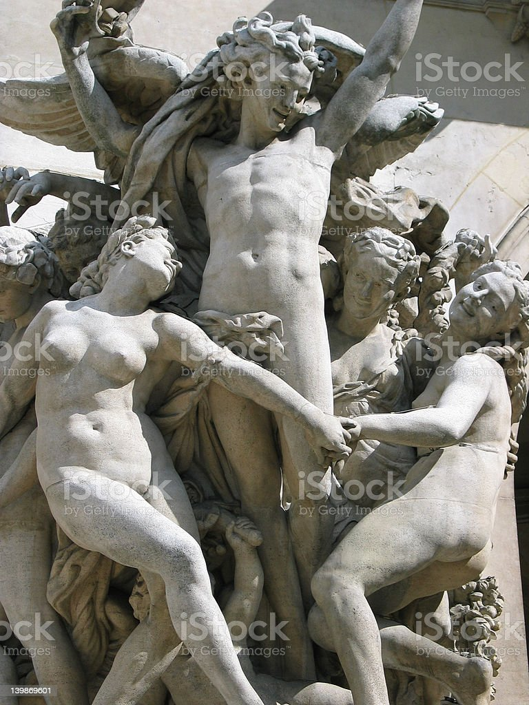 Bacchus & Bacchantes stock photo