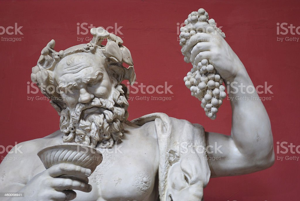 Bacchus. stock photo