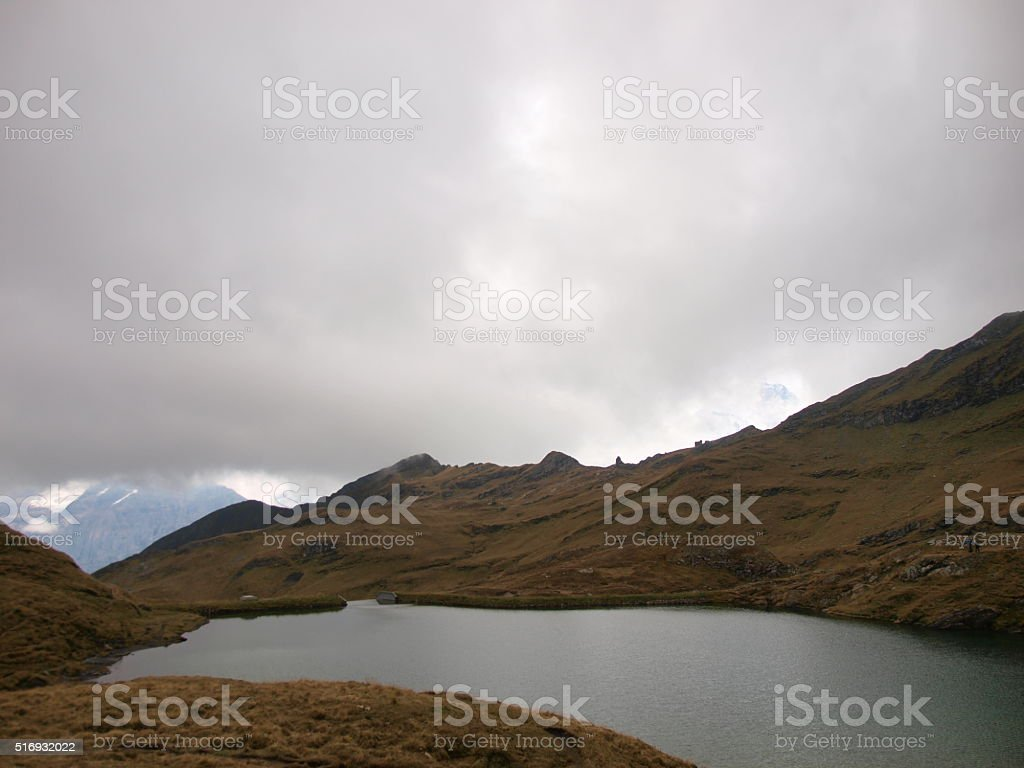 Bachalpsee,Grindelwald/Switzerland stock photo
