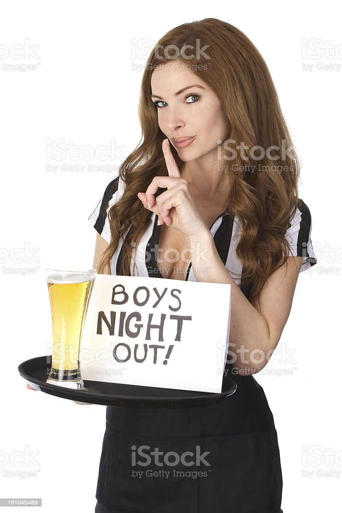bachelor party royalty-free stock photo