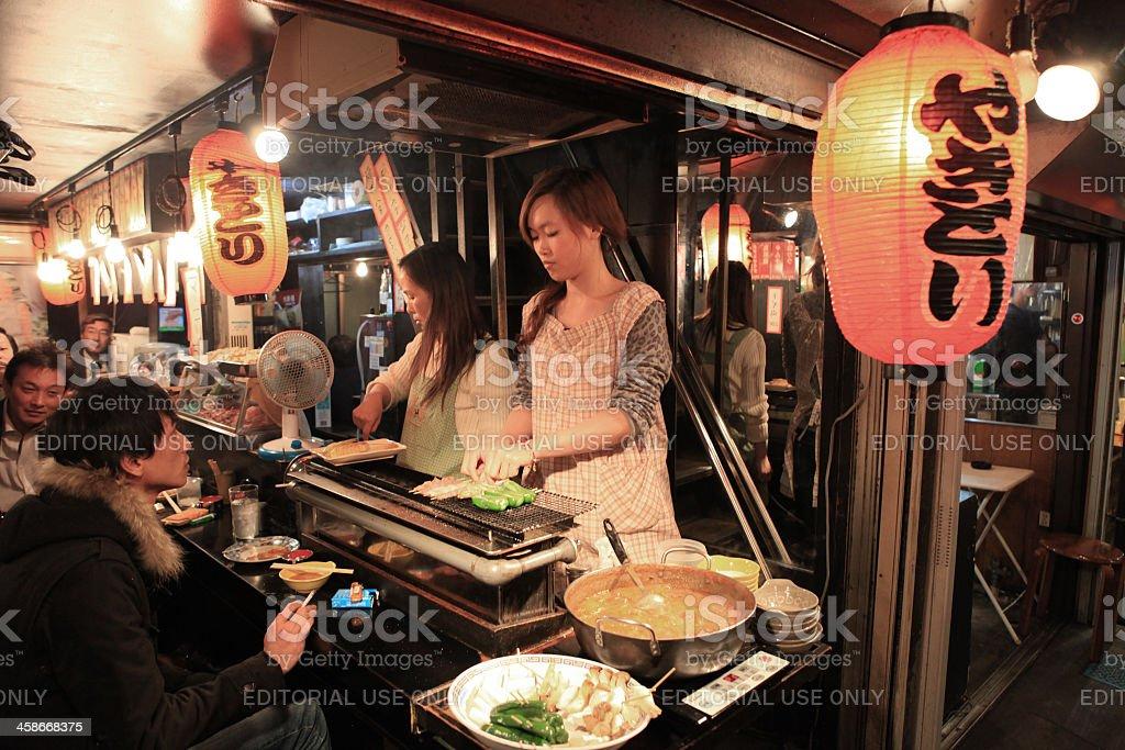 Back Alley Restaurant stock photo