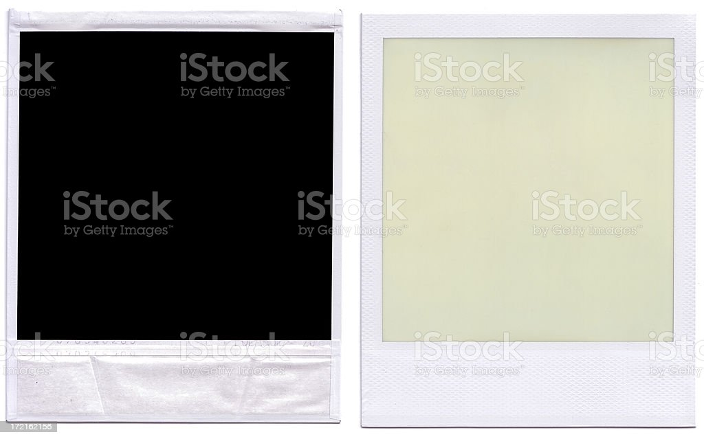 Back and front photos royalty-free stock photo
