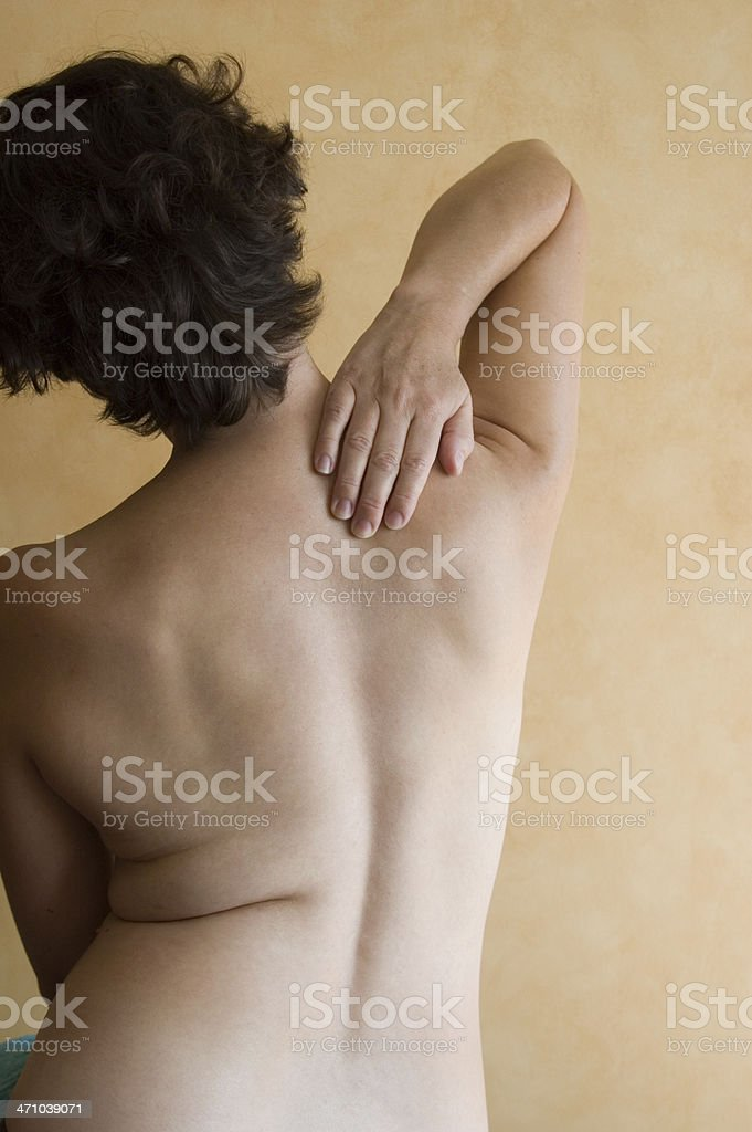 Back and Spine (series) stock photo