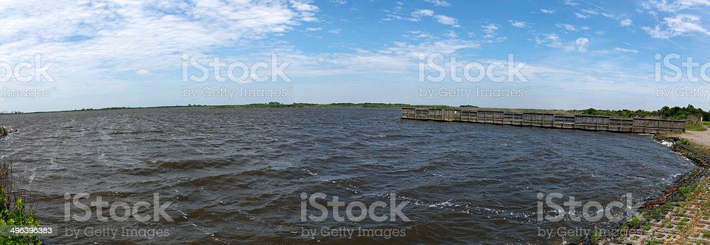 Back Bay stock photo