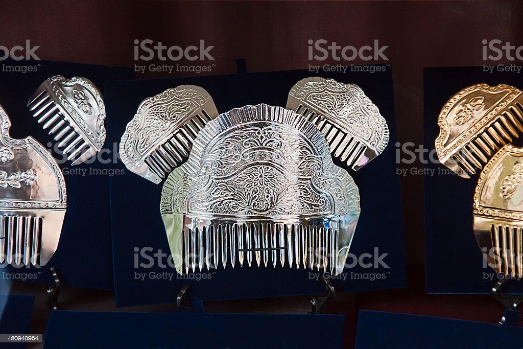 back comb stock photo