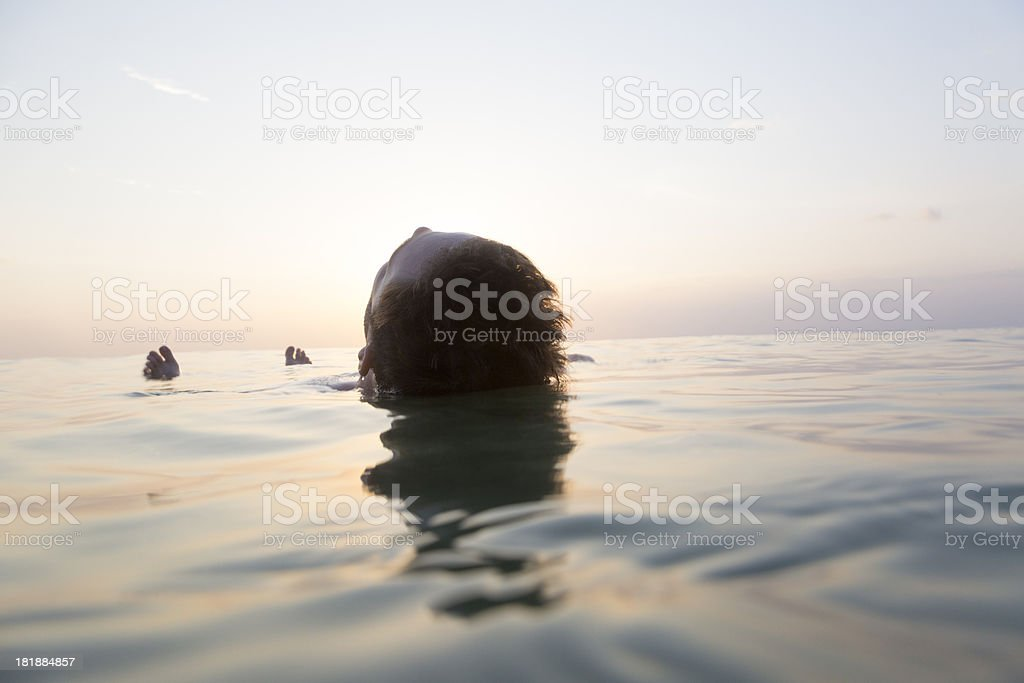 Back Float royalty-free stock photo