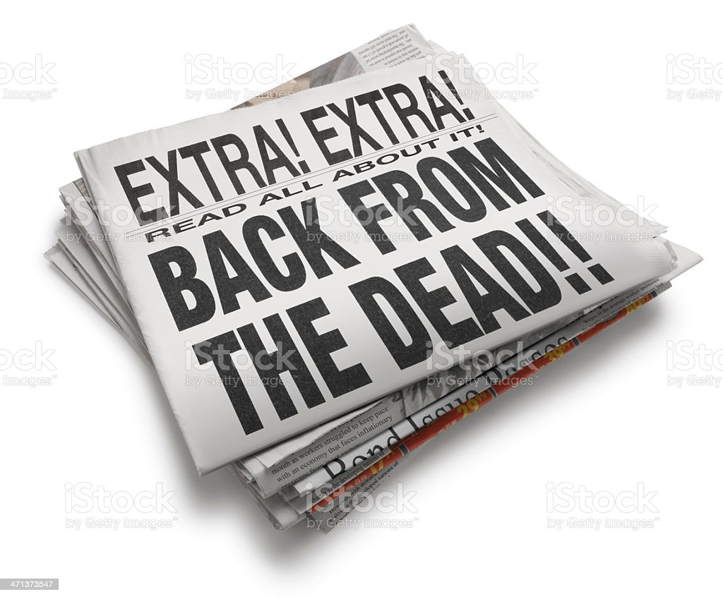 Back From The Dead royalty-free stock photo