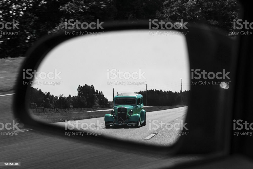 Back in Time stock photo