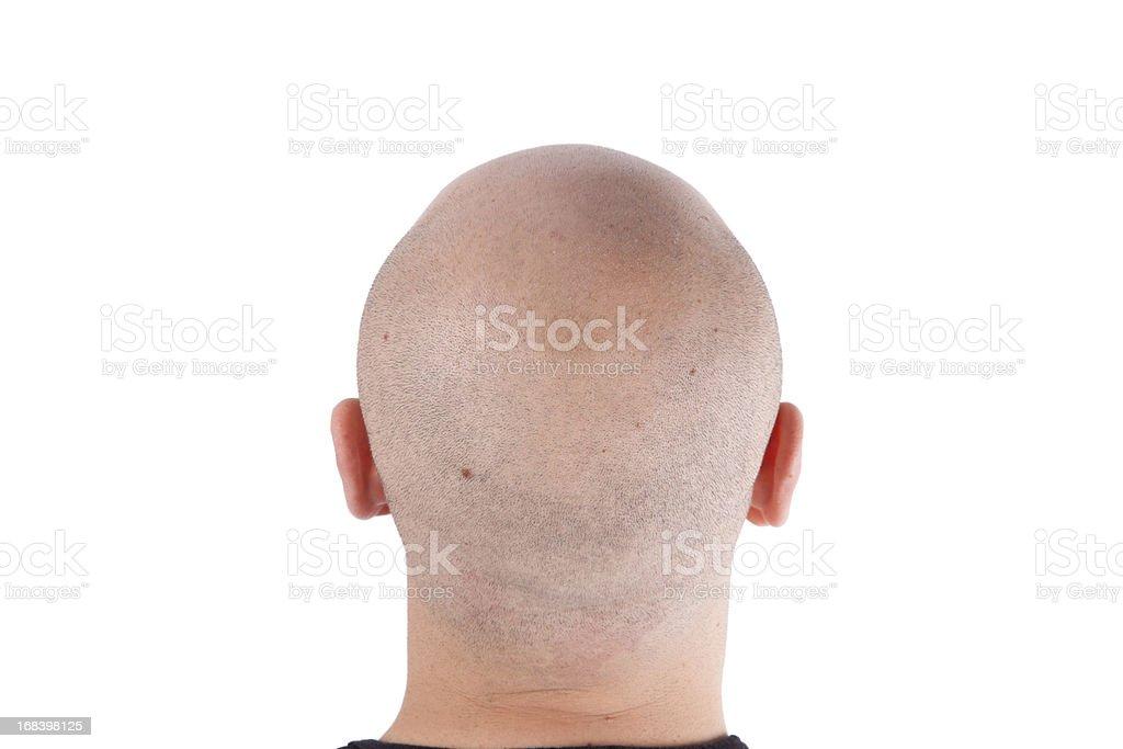 Back of Head stock photo