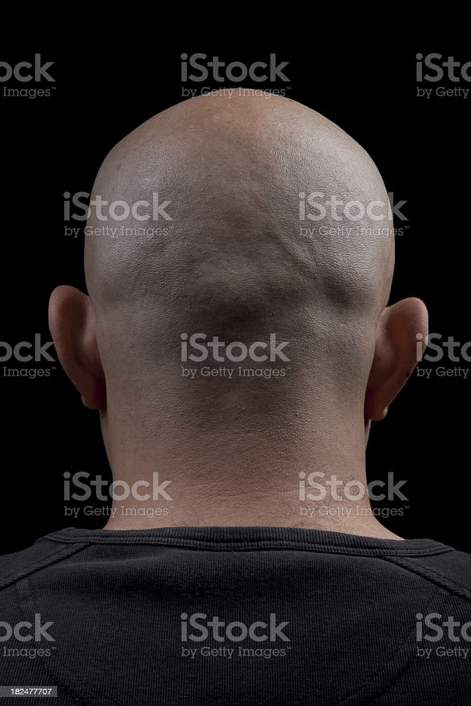 Back Of Head royalty-free stock photo