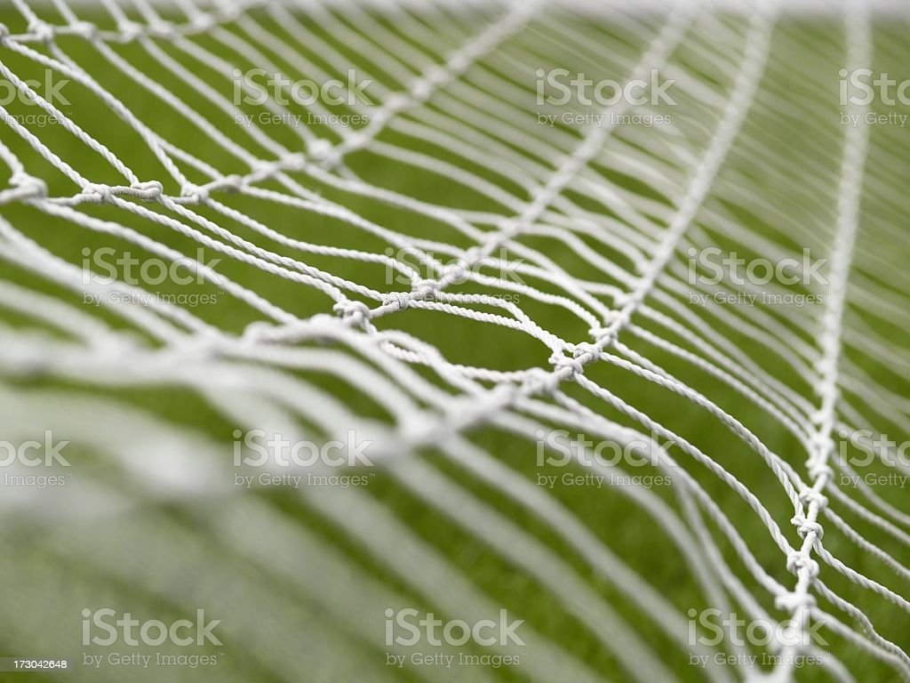 Back of the net royalty-free stock photo