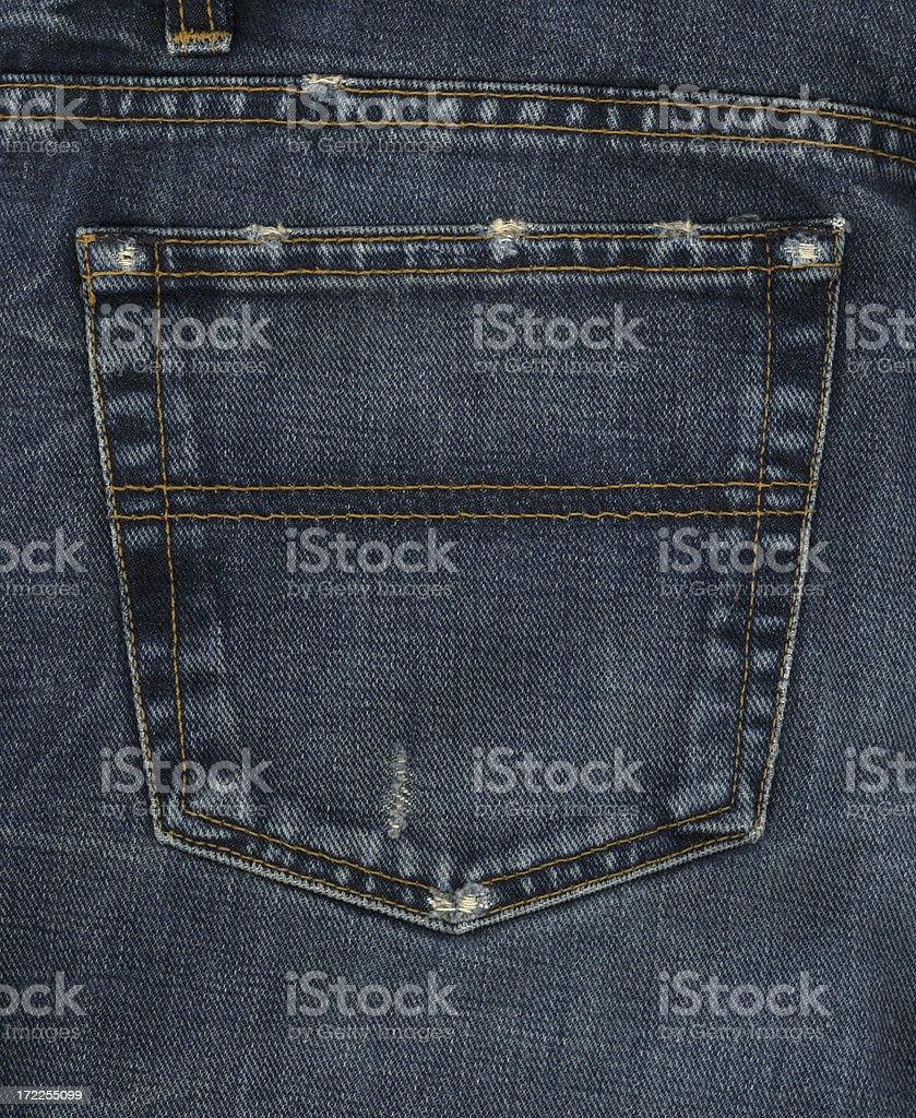 back pocket stock photo