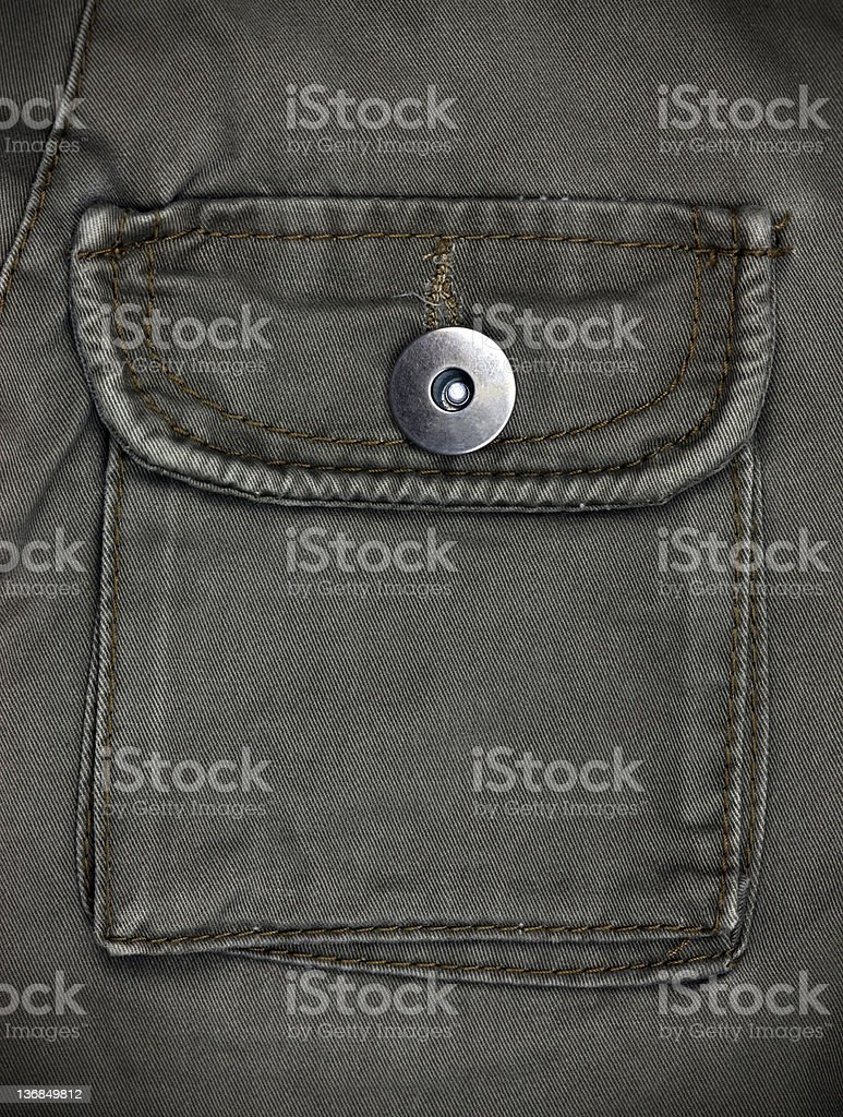 back side of black jeans royalty-free stock photo