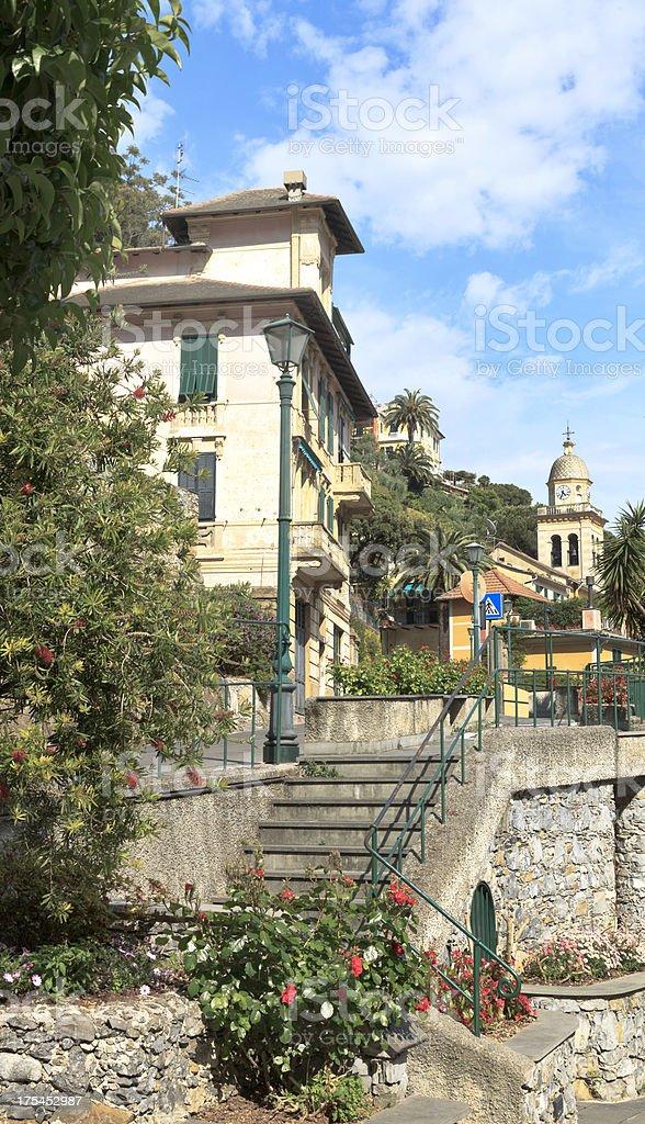 Back Streets of Portofino royalty-free stock photo