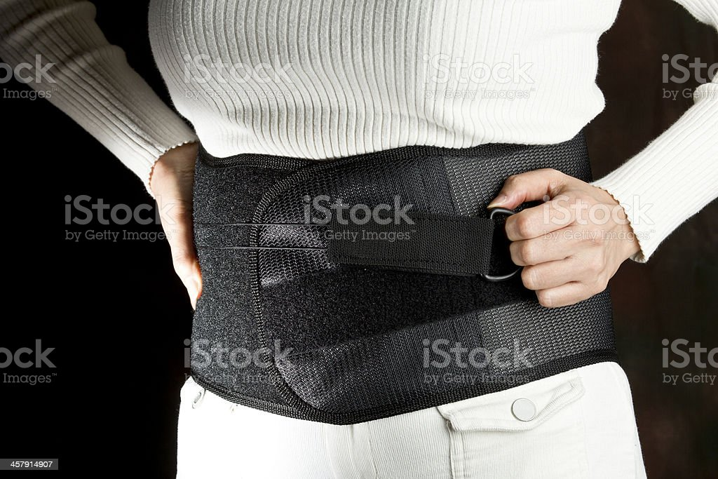 Back Support stock photo