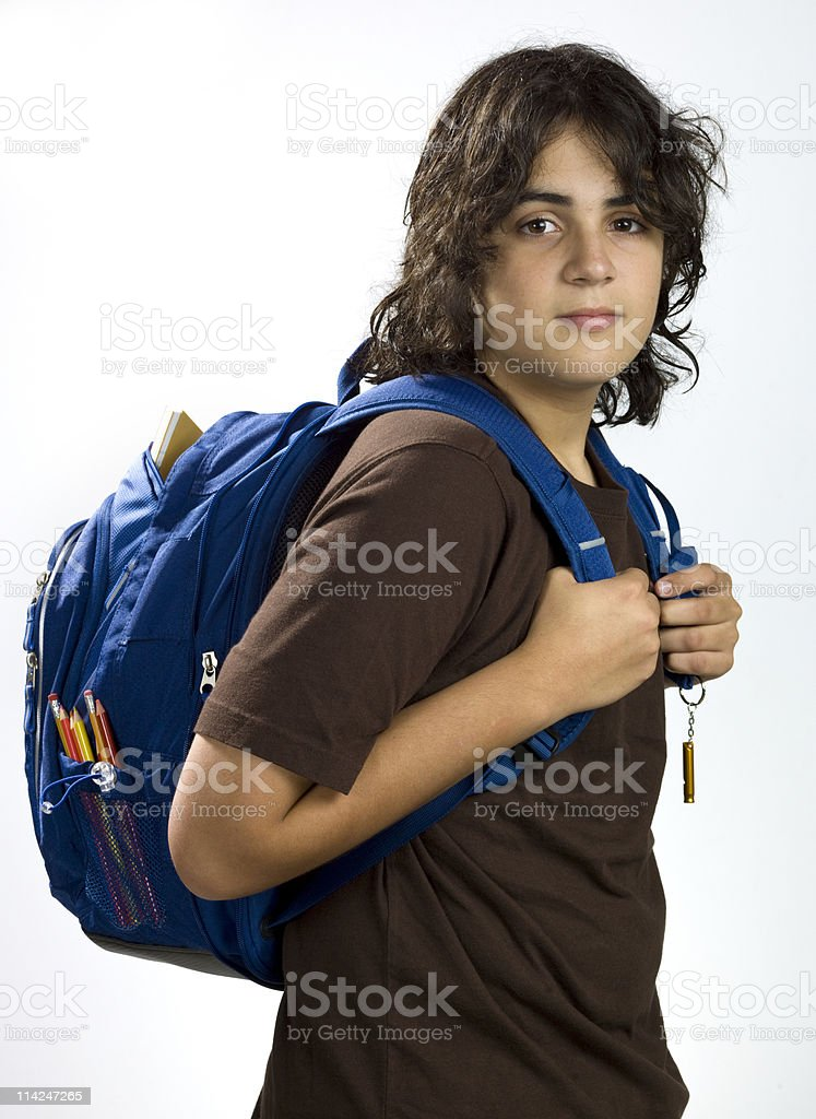Back to Class royalty-free stock photo