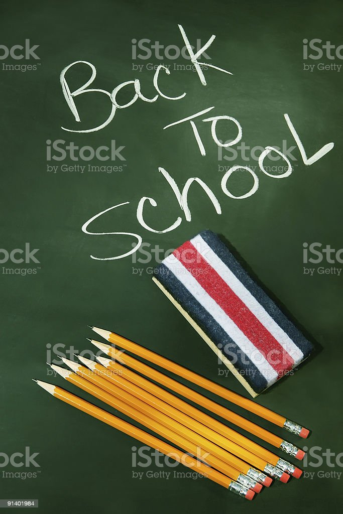 Back to school acessories stock photo