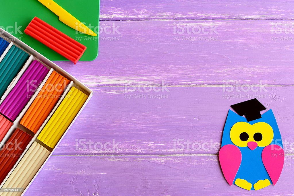 Back to school background for children stock photo