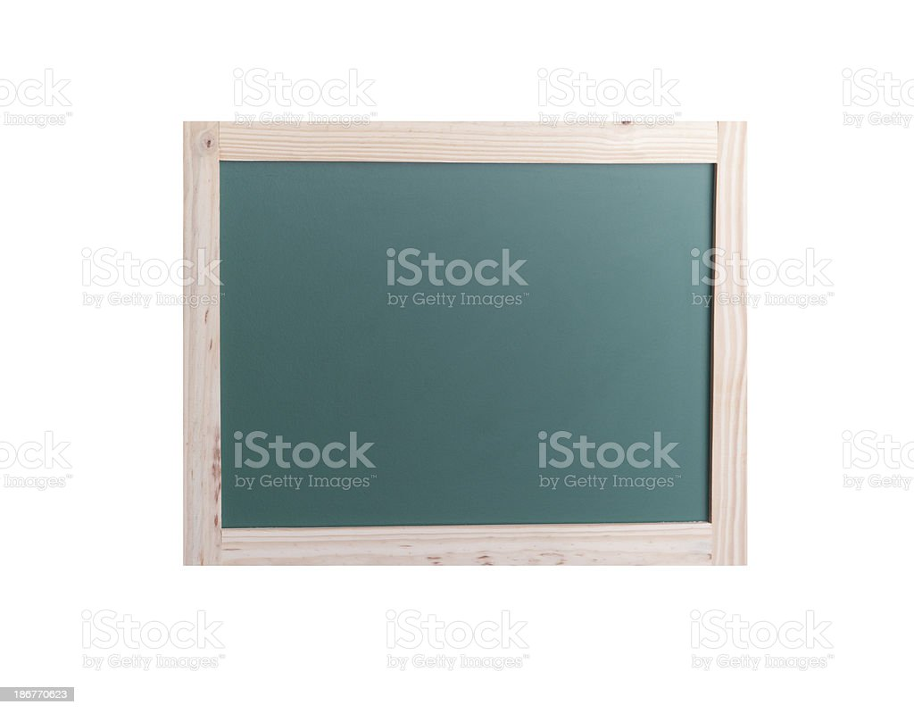 Back to School Chalkboard royalty-free stock photo