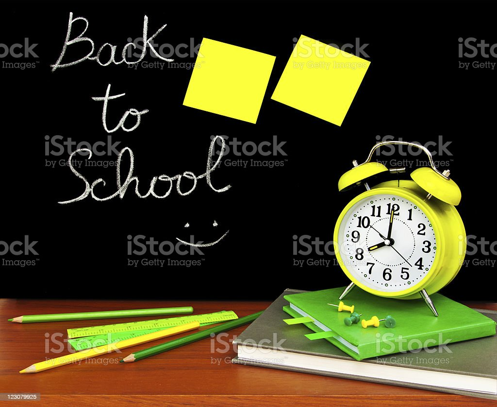 Back to school concept royalty-free stock photo