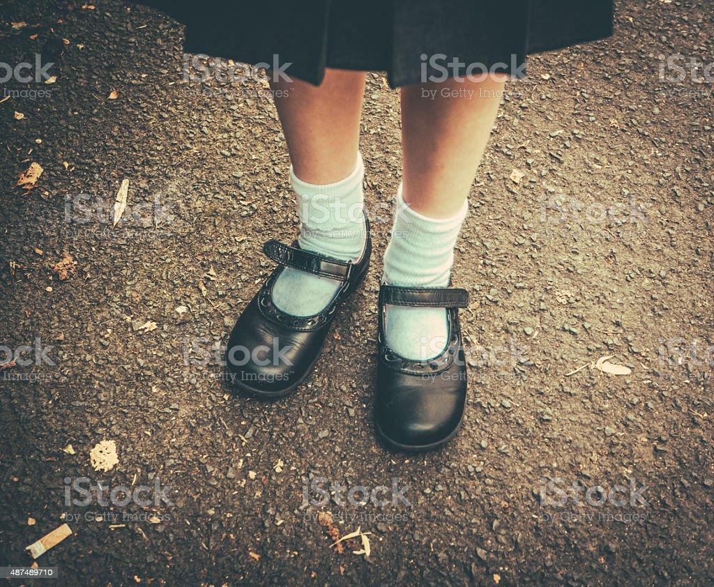Back To School Girl stock photo