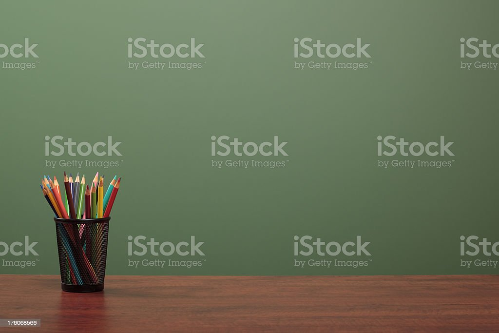 Back to School (with copy space) stock photo