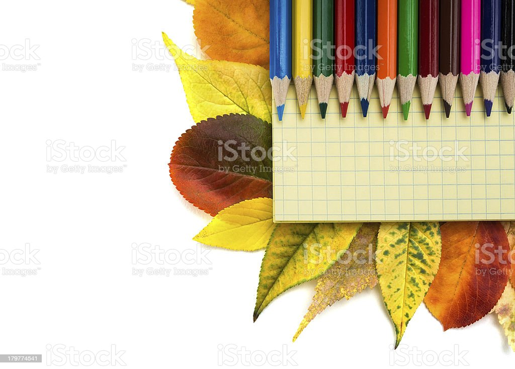 Back to school. royalty-free stock photo