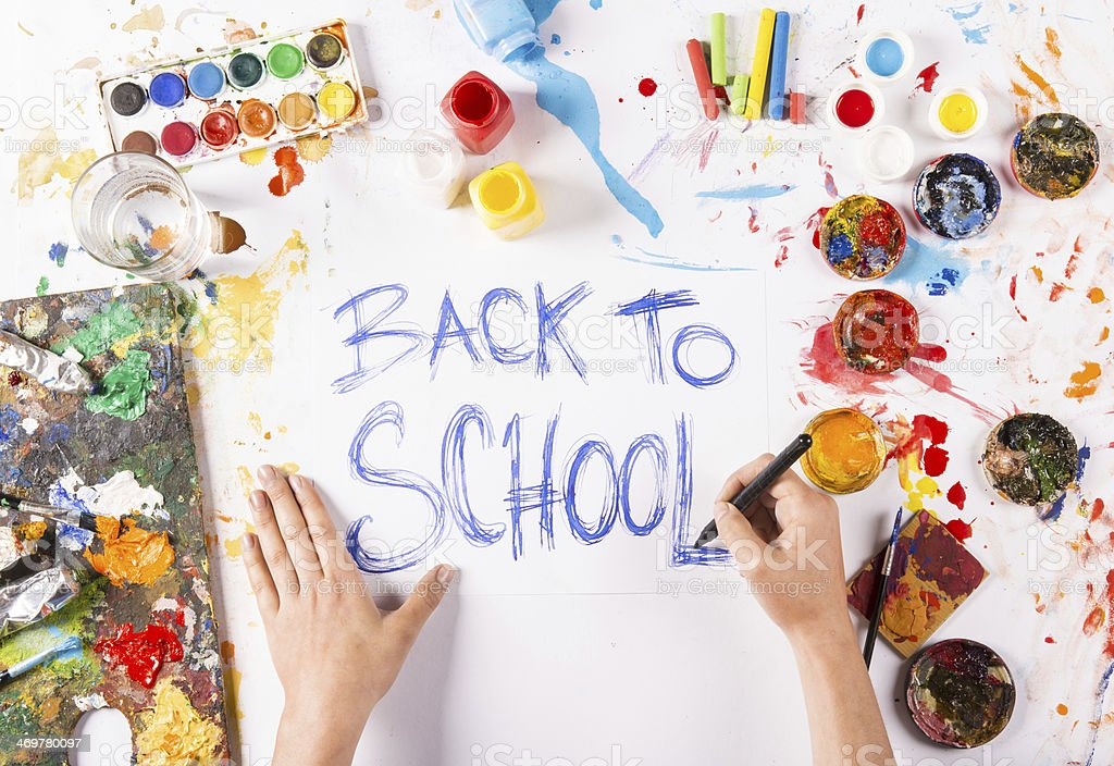 Back to school royalty-free stock photo