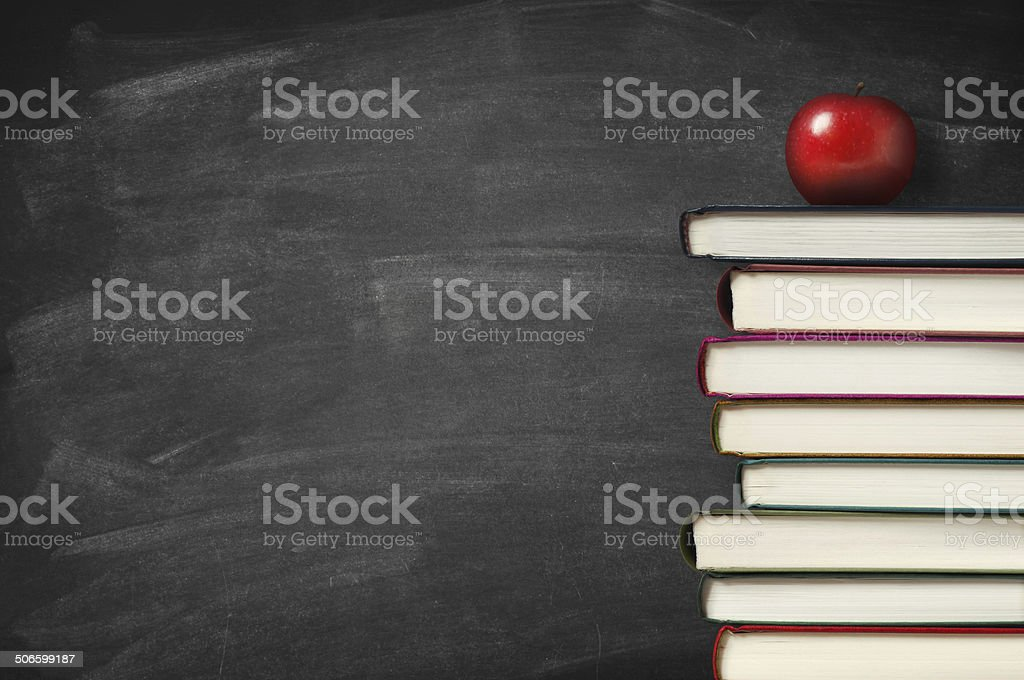 Back to school theme stock photo